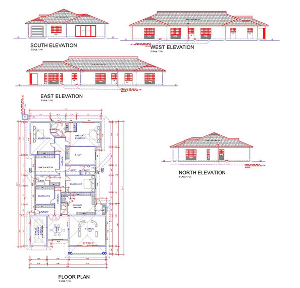 Just house plans harare escortsea for House floor plans zimbabwe